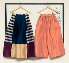 Real talk: can we have a pair of culottes for every day of the week? Comfort, guys. http://www.thecoveteur.com/margaret-zhang-closet/