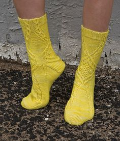 Stricken Socks pattern by Cookie A #knit
