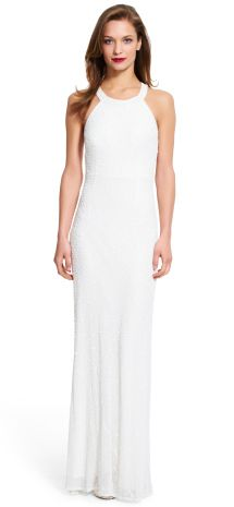 Elegant sporty chic wedding dress: http://www.stylemepretty.com/2016/08/14/budget-wedding-dress-save-splurge/