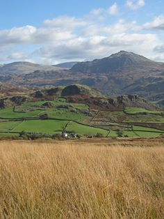 Looking across Eskdale to Harter Fell, Lake District
