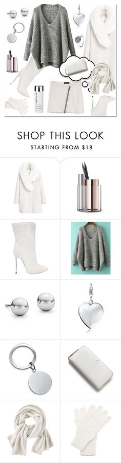 """V-Neck Sweater"" by ilona-828 ❤ liked on Polyvore featuring MANGO, Whitney Eve, Casadei, Blue Nile, Kate Spade, Wrap, White House Black Market, StreetStyle, romwe and polyvoreeditorial"