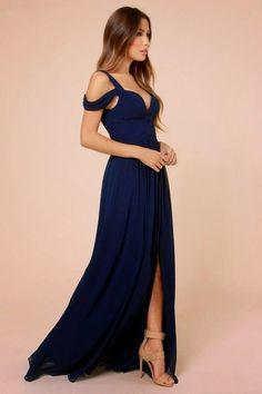 Vestidos Azul Marino