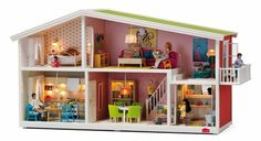 Create your own dream world with a Lundby doll's house! It's winter in the Lundby world, and the family garden is covered in sparkling snow. There's even more space for your dolls in this beautiful Lundby Småland winter garden! Modern Dollhouse, Dollhouse Dolls, Miniature Dollhouse, Humble House, Vitrine Miniature, Cool Mom Picks, Dream Doll, Girls Dream, New Wall