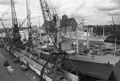 Kaliningrad seaport The Kaliningrad fishing seaport. 1977