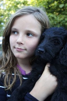 Ingrid Alexandra of Norway with her puppy