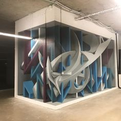 Anamorphic Experiment by Peeta seen at BroadbandTV (BBTV), Vancouver Street Graffiti, 3d Street Art, Graffiti Wall, Street Artists, Wall Street, Letras Graffiti 3d, Mural Art, Wall Murals, Graffiti Wildstyle