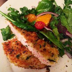 20 SOMETHING + 30 SOMETHING: Sunday Supper: Orange Chicken & Salad
