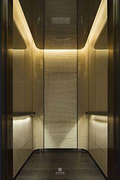 The Ultimate Design Experience Lobby Interior, Luxury Homes Interior, Office Interior Design, Interior Lighting, Lift Design, Cabin Design, Hotel Interiors, Office Interiors, Elevator Lobby Design