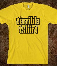 Pittsburgh Terrible T-shirt #Steelers