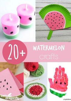 20+ Watermelon Crafts
