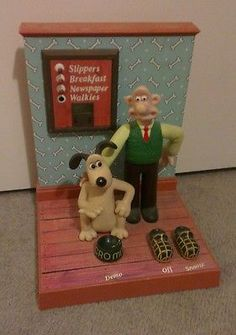 Wallace and gromit Talking alarm clock