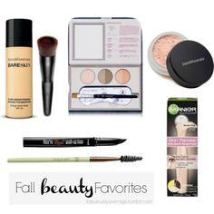 Fabulously Average   Fall Beauty Favorites  @bareminerals @benefitcosmetics @pixibeauty @garnierusa @anastasiaabh
