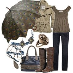 I love ALL of this- especially the umbrella!