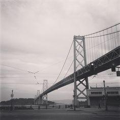 Bay bridge   @designconundrum