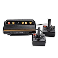 Play classic video games on your TV with the Atari Flashback 8 Classic Video Game Console. Simply plug and play for 105 different game options, including Atari 2600 greatest hits.