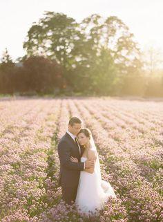 Shot List: bride and groom in field
