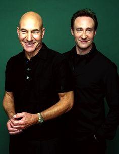 Sir Patrick Stewart & Brent Spiner