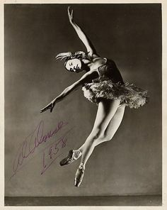 Alicia Alonso, 1958. this is like my ultimate ballet goal!