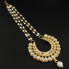 Gold Chand Maang Tikka @ Indiatrend For $24.99USD