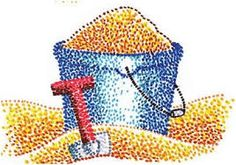 Image result for kids pointillism pictures