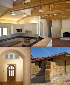 Single Family Straw Bale Home.  Architect: San Luis   Sustainability Group  Location: Shandon, CA
