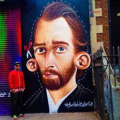 Sipros in NYC streetartnews.tumblr.comwww.arteymuros.com#art #mural #graffiti #streetart