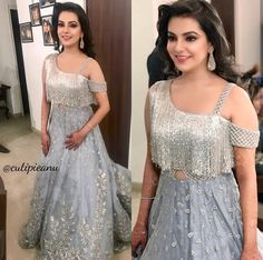 Buy Crop Top and Skirt Wedding Dress Indian Designer Outfits, Indian Outfits, Designer Dresses, Indian Attire, Choli Designs, Blouse Designs, Kaftan, Modele Hijab, Indian Gowns Dresses