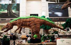 Elastic Park: Giant Balloon Dinosaur by Airigami