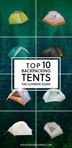 Top 10 Best Backpacking Tents | Best Camping Gear | Hiking Gear For Beginners | Backpacking Equipment List for Women, Men and Kids|