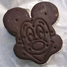 I love these Mickey Ice Cream Sandwiches at Disneyland