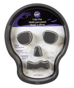 Look at this #zulilyfind! Skull Tube Cake Pan #zulilyfinds
