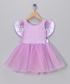 Lilac & Pink Tutu Dress & Wings - Toddler & Girls by Princess Expressions on #zulily