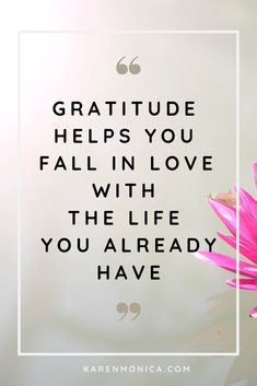 Quotes About Gratitude - Quote Positivity - Positive quote - Gratitude helps you fall in love with the life you already have. How to start a gratitude journal. The post Quotes About Gratitude appeared first on Gag Dad. Motivational Quotes For Success, Great Quotes, Inspirational Quotes, Attitude Of Gratitude, Gratitude Quotes, Gratitude Jar, Motivacional Quotes, Life Quotes, Post Quotes