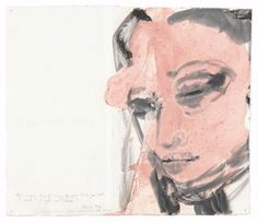Marlene Dumas,  Back to  (2011), oil on ink on paper, 33 x 38 cm. © the artist, courtesy the artist and Frith Street Gallery. Purch...