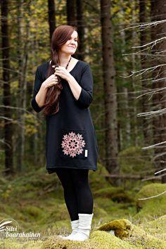 Palmiina Kaarinatunika, naisten vaatteet. www.palmiina.fi