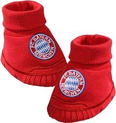 15959 FC Bayern München Baby Schuhe 'Logo' - http://on-line-kaufen.de/fc-bayern-muenchen/15959-fc-bayern-muenchen-baby-schuhe-logo