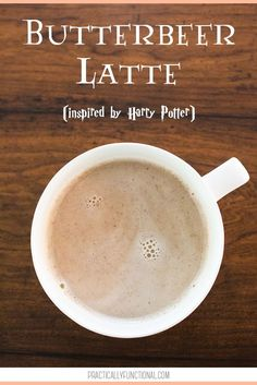 Harry Potter lovers rejoice! Now you can make your own Harry Potter inspired butterbeer latte with this simple recipe or learn how to order one from the Starbucks secret menu!
