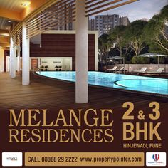 Melange Residences Hinjewadi is the housing complex is hence rather spacious and there is enough greenery within it to impart a healthy ambience for the residence. Melange Residences Hinjewadi offers flats are majorly 2 BHK and 3 BHK in size. The apartments are luxuriously designed and are spacious enough for a comfortable living