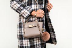 zac zac posen mini eartha Archives - Haute Off The Rack Fur Bag, Plaid Coat, Zac Posen, Hermes Kelly, Over The Knee Boots, Fashion Accessories, Crossbody Bag, Purses, Mini