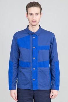 Decio Jacket - Blue Blue | Outerwear