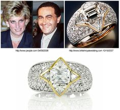 The ring Dodi Fayed orderd for Princess Diana.