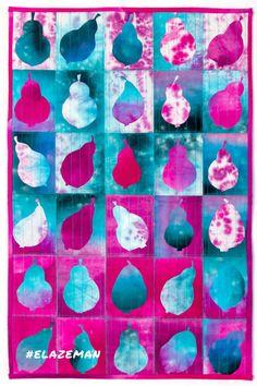 Art quilting, hand-dyed fabrics, application, home decor ideas, textile art. Art Quilting, Textiles, Decoration, Textile Art, Home Accessories, Fabrics, Decor Ideas, Quilts, Inspiration
