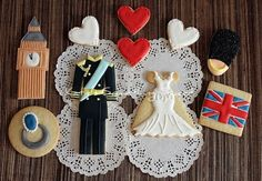 Prince William and Kate Middleton wedding cookies