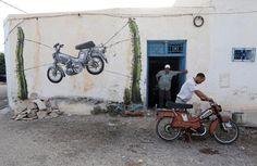 Ein Dorf mit Street Art internationaler Künstler - DIE WELT