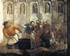 Fra Angelico, The Martyrdom of St Lawrence, Cappella Niccolina, Palazzi Pontifici, Vatican