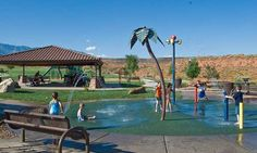 St George UT splash pads and water parks