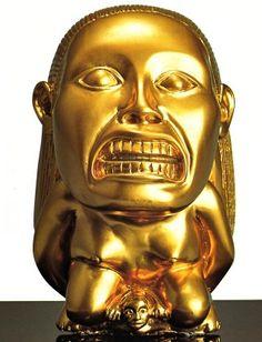 Raiders of the Lost Ark golden idol replica