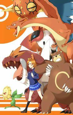 Honoka X Pokémon