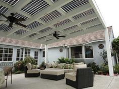 Learn about installing a Solar Panel Patio Cover in San Diego. Instead of penetrating your roof with solar panels, provide shade and power all in one. Solar Energy Panels, Solar Panels For Home, Best Solar Panels, Solar Roof Tiles, Solar Projects, Solar House, Solar Panel Installation, Porches, Diy Solar