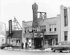 1955 Howell Theater Midget Restaurant And The Original Kroger S Michigan